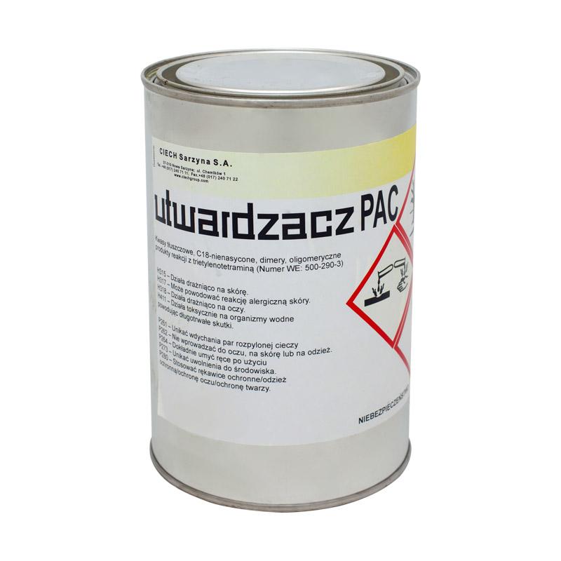 Młodzieńczy Utwardzacz PAC do ciekłych żywic epoksydowych 0,8KG | farbyjachtowe.pl PT35