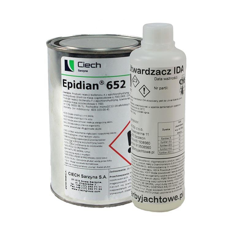 Wspaniały Komplet żywica Epidian 652 + Utwardzacz IDA + GRATIS Kubek NY36